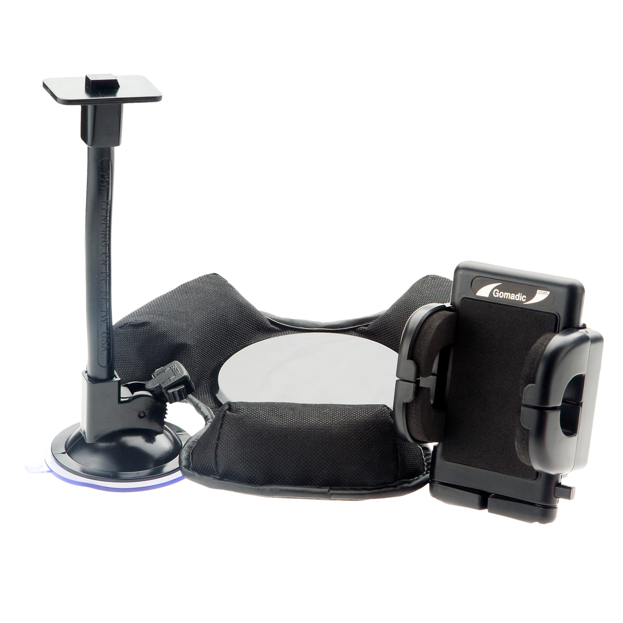 Car / Truck Vehicle Holder Mounting System for HTC Titan Includes Unique Flexible Windshield Suction and Universal Dashboard Mount Options
