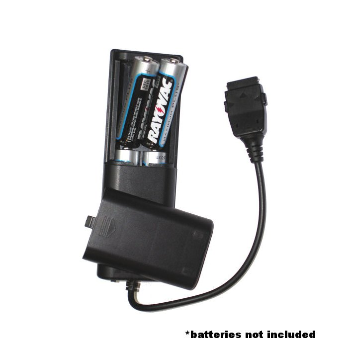 Portable Emergency AA Battery Charger Extender suitable for the Garmin EDGE 500 - with Gomadic Brand TipExchange Technology