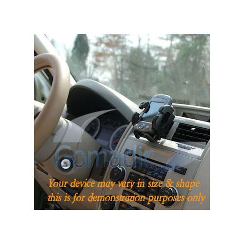 Gomadic Air Vent Clip Based Cradle Holder Car / Auto Mount suitable for the LG PM-325 / PM 325 - Lifetime Warranty
