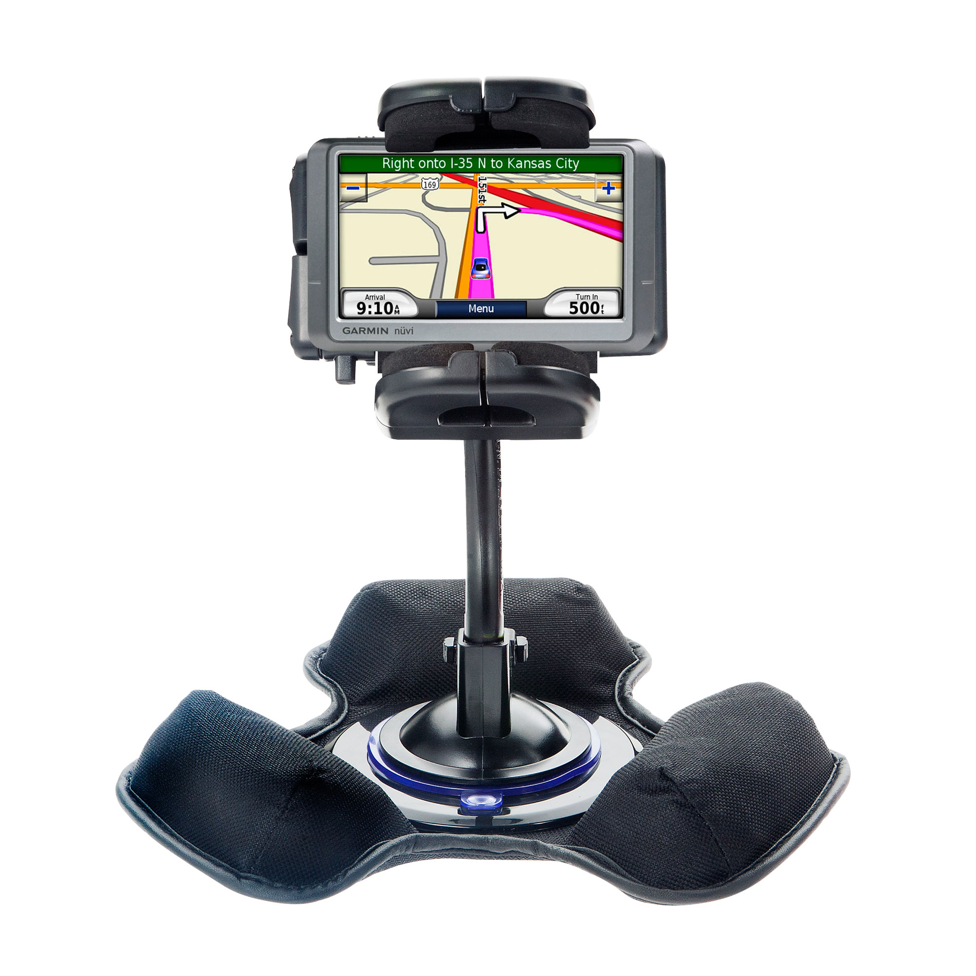 Dash and Windshield Holder compatible with the Garmin Nuvi 250 250W 250WT