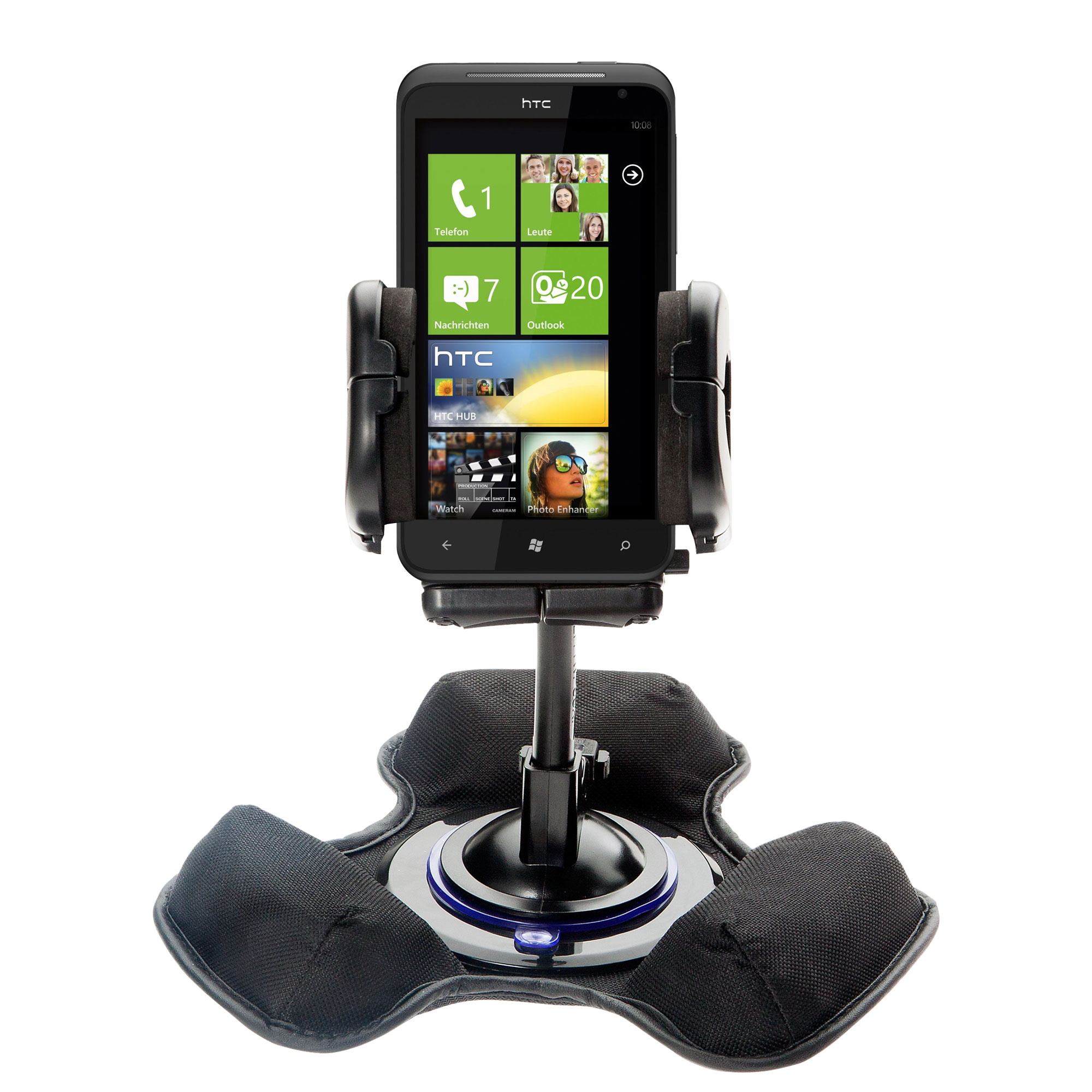 Dash and Windshield Holder compatible with the HTC Titan