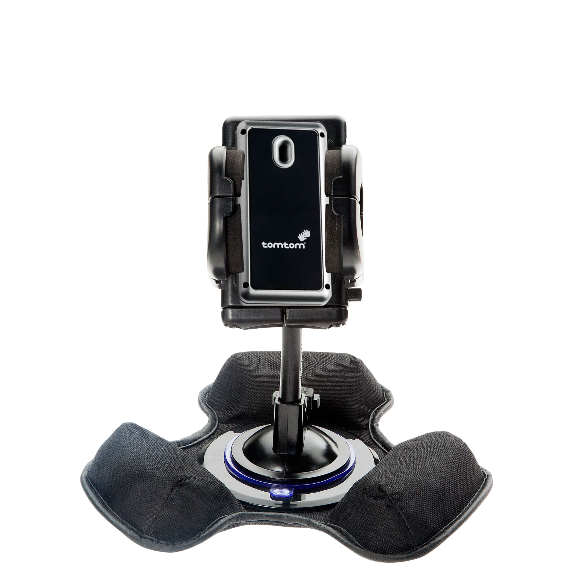Car / Truck Vehicle Holder Mounting System for TomTom Navigator 5 Includes Unique Flexible Windshield Suction and Universal Dashboard Mount Options