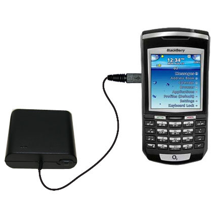 AA Battery Pack Charger compatible with the Blackberry 7100x