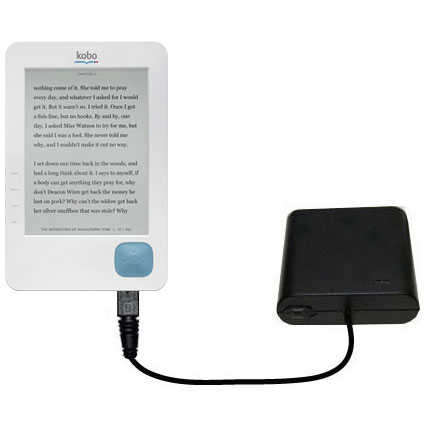 AA Battery Pack Charger compatible with the Kobo eReader