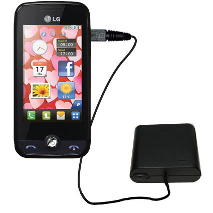 AA Battery Pack Charger compatible with the LG Cookie Fresh (GS290)