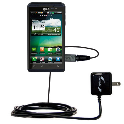 Wall Charger compatible with the LG Thrill 4G