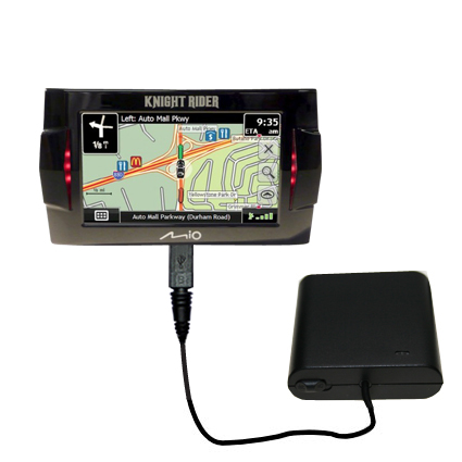 AA Battery Pack Charger compatible with the Mio Knight Rider