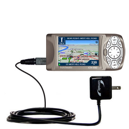 Wall Charger compatible with the Navman iCN 650