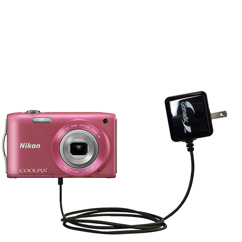 Wall Charger compatible with the Nikon Coolpix S3200 / S3300