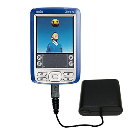 AA Battery Pack Charger compatible with the Palm palm Zire 72s