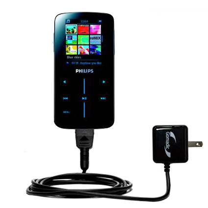 Wall Charger compatible with the Philips GoGear SA9325/00