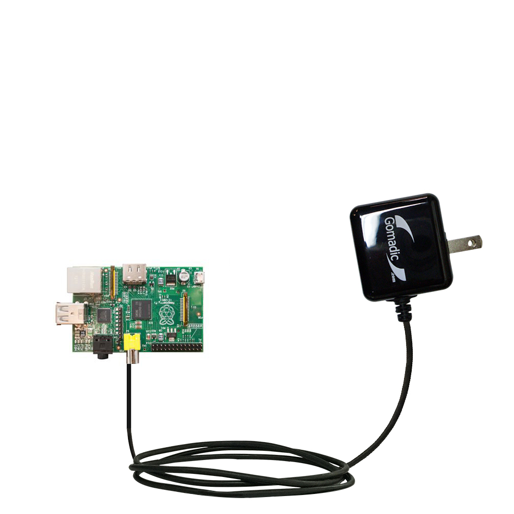Wall Charger compatible with the Raspberry Pi Board