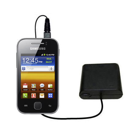 AA Battery Pack Charger compatible with the Samsung Galaxy Y