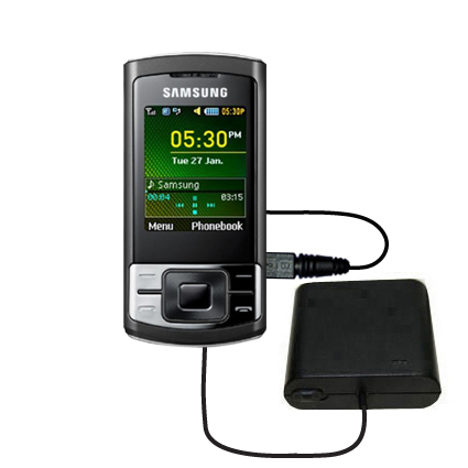 AA Battery Pack Charger compatible with the Samsung GT-C3050