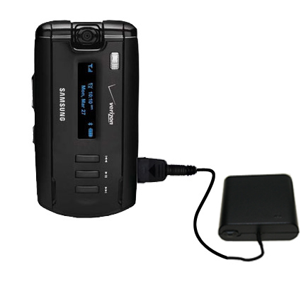 Portable Emergency AA Battery Charger Extender suitable for the Samsung SGH-A930 - with Gomadic Brand TipExchange Technology