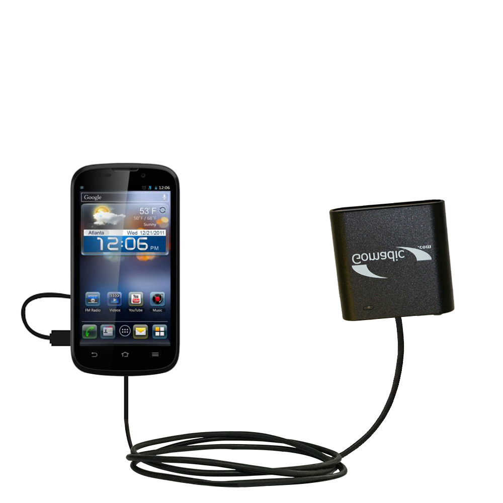 AA Battery Pack Charger compatible with the ZTE Awe