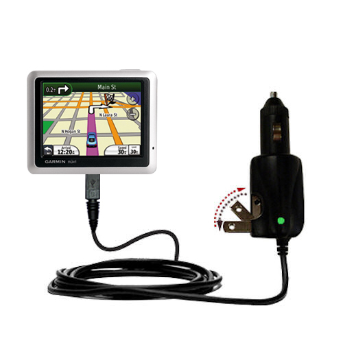how to tell if garmin nuvi is charging