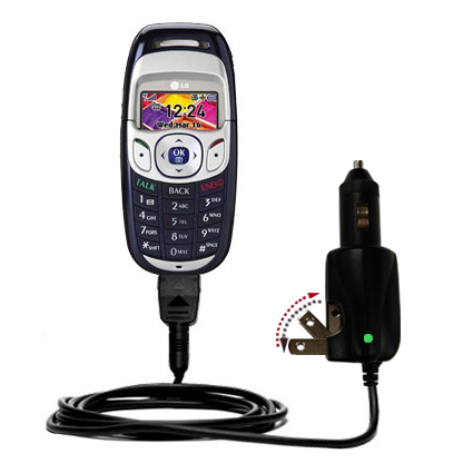 Car & Home 2 in 1 Charger compatible with the LG PM-325 / PM 325