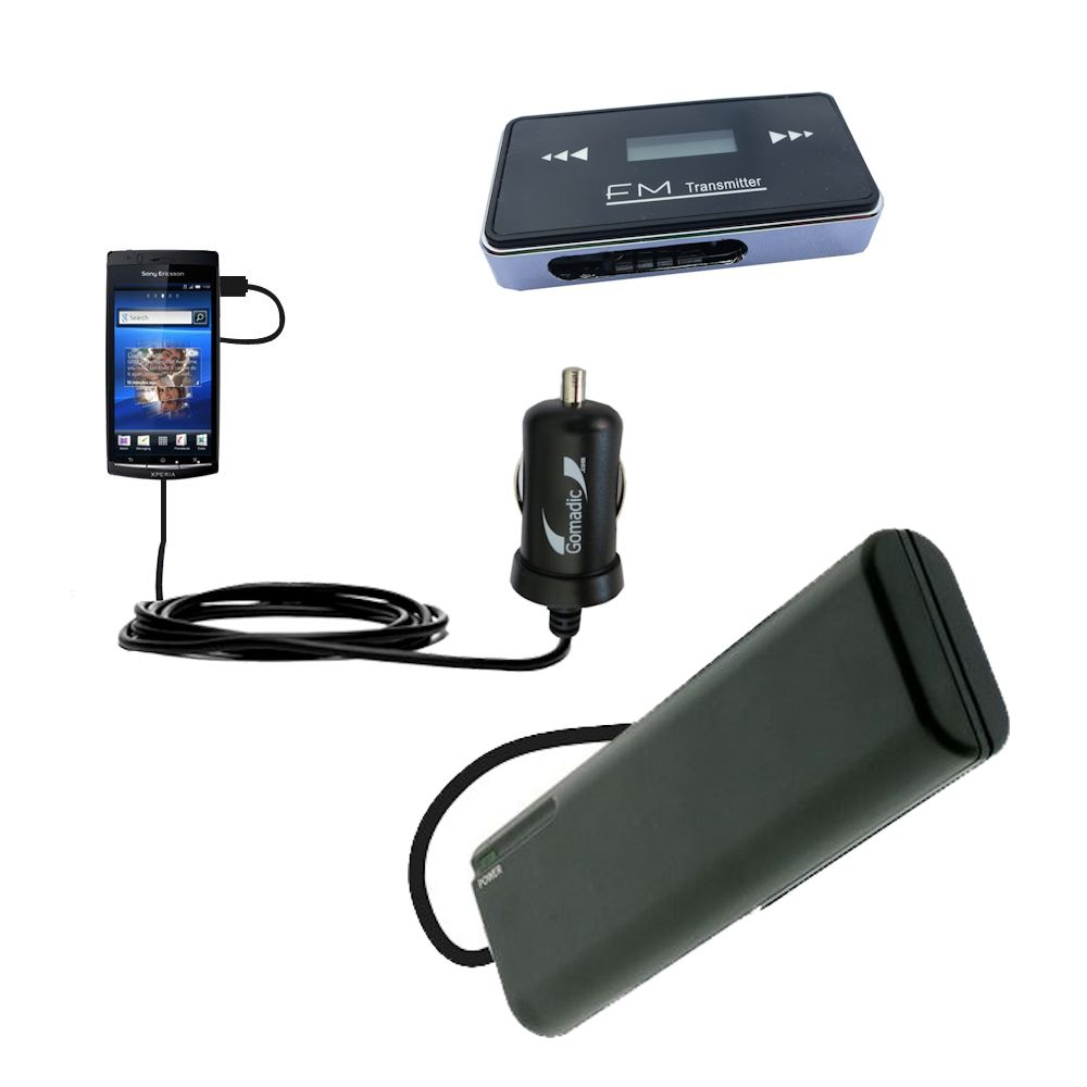 holiday accessory gift bundle set for the Sony Ericsson LT15i