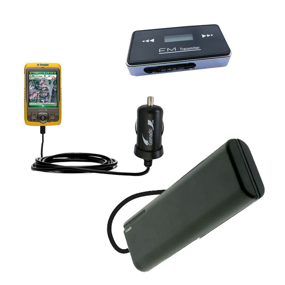 the prefect Holiday Christmas or Birthday accessory gift set bundle for the Trimble Juno SB