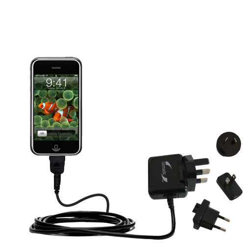 International Wall Charger compatible with the Apple iPhone