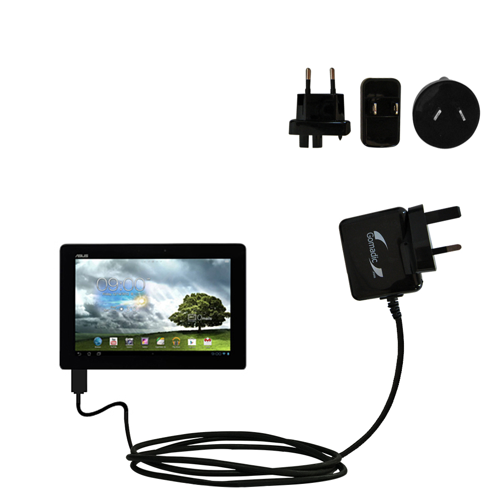 International Wall Charger compatible with the Asus MeMo Pad Smart 10