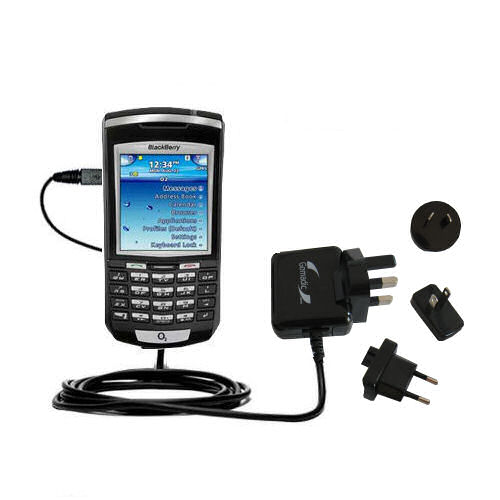 International Wall Charger compatible with the Blackberry 7100x