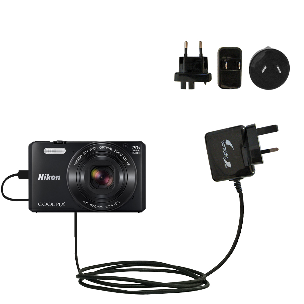 International Ac Home Wall Charger Suitable For The Nikon