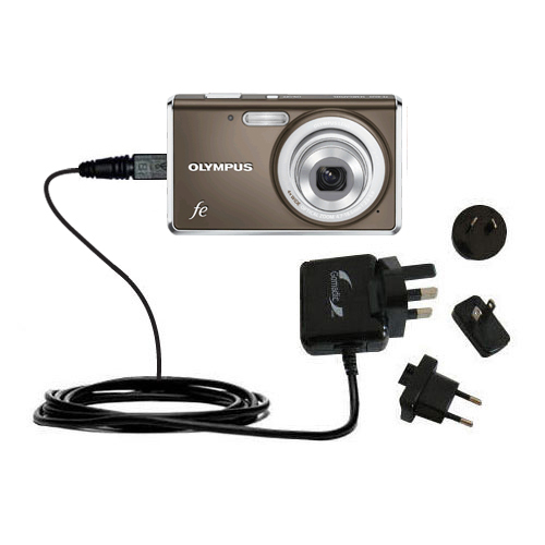Charger suitable for the olympus fe 4020 digital camera 10w charge