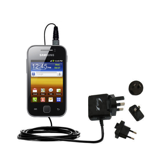 International Wall Charger compatible with the Samsung Galaxy Y