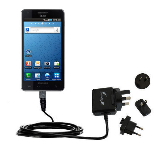 International Wall Charger compatible with the Samsung Infuse 4G