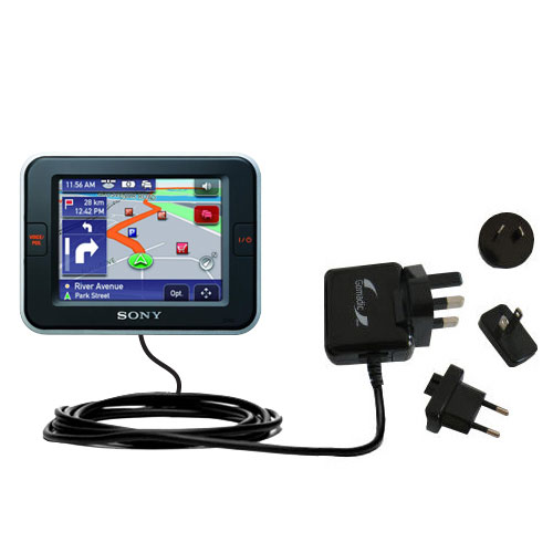International Wall Charger compatible with the Sony Nav-U NV-U52
