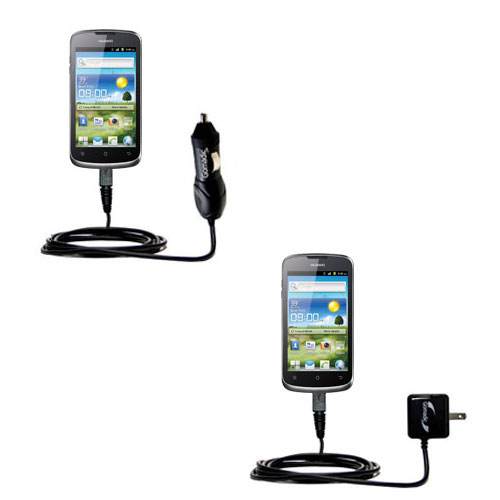 Car & Home Charger Kit compatible with the Huawei U8815