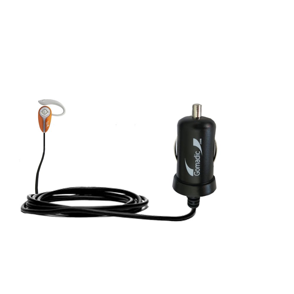 Mini Car Charger compatible with the BlueAnt X3 micro