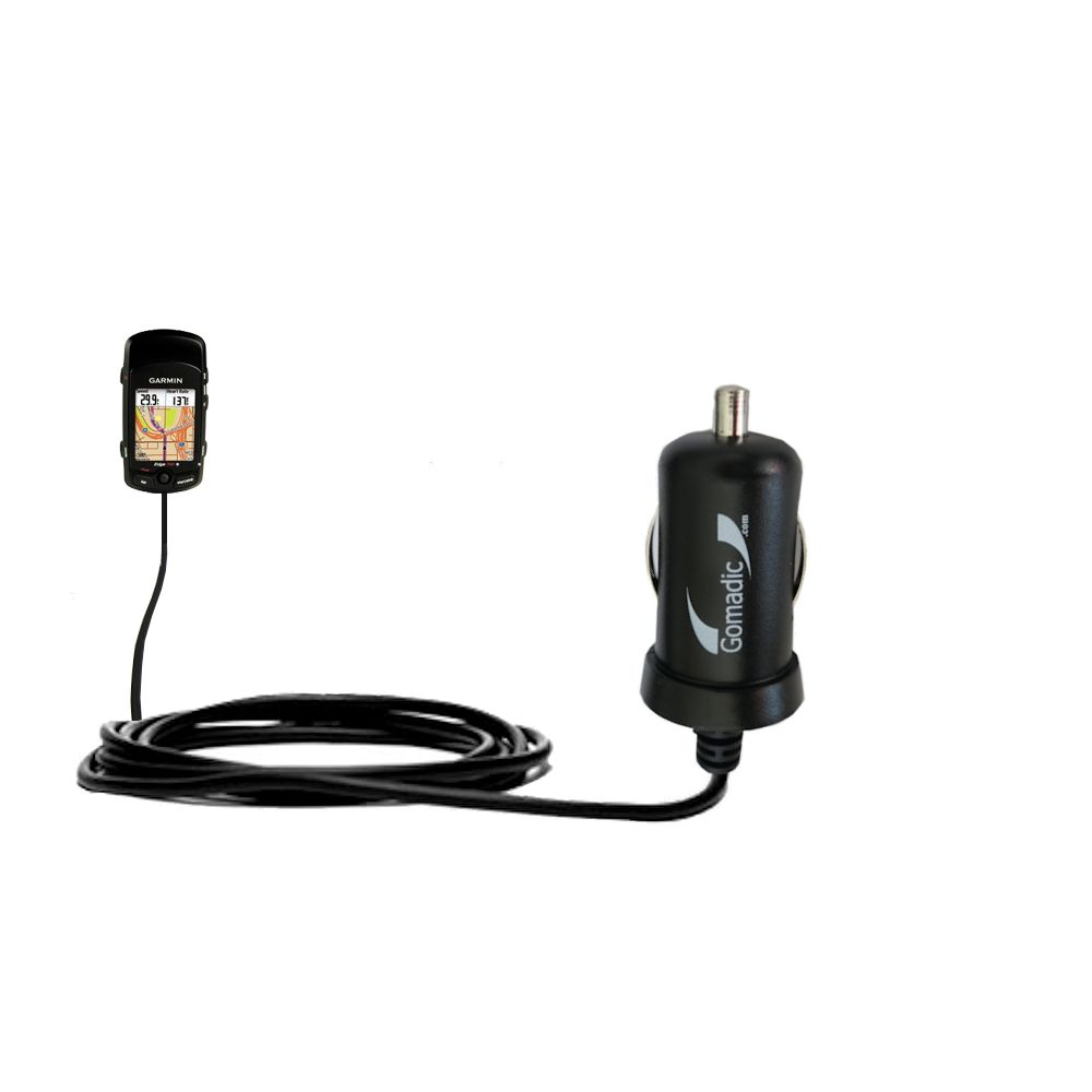 Mini Car Charger compatible with the Garmin Edge 705