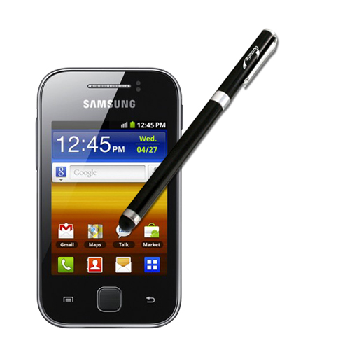 Samsung Galaxy Y compatible Precision Tip Capacitive Stylus with Ink Pen