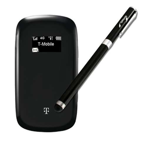 Gomadic Precision Tip Capacitive Stylus designed for the T-Mobile 4G Mobile Hotspot with Integrated Ink Ballpoint Pen - Lifetime Warranty