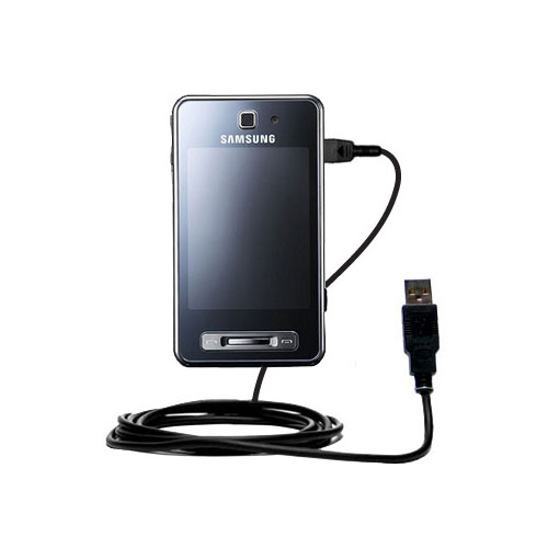 classic straight usb cable suitable for the samsung sgh. Black Bedroom Furniture Sets. Home Design Ideas