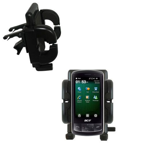 Vent Swivel Car Auto Holder Mount compatible with the Acer beTouch E200 E210