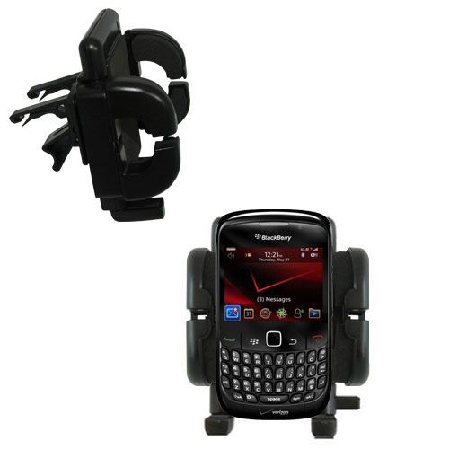 Gomadic Air Vent Clip Based Cradle Holder Car / Auto Mount suitable for the Blackberry Bold 9650 - Lifetime Warranty