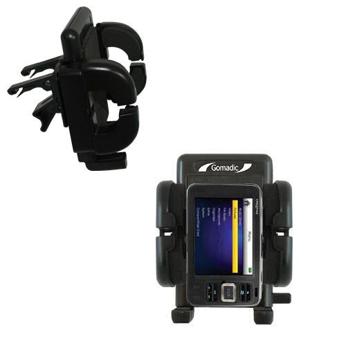 Gomadic Air Vent Clip Based Cradle Holder Car / Auto Mount suitable for the Creative Zen V Plus - Lifetime Warranty