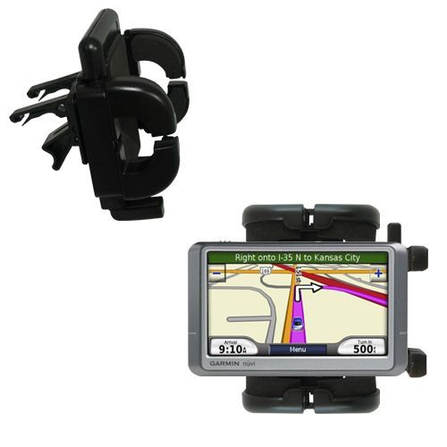 Gomadic Air Vent Clip Based Cradle Holder Car / Auto Mount suitable for the Garmin Nuvi 255W 255WT 255 - Lifetime Warranty
