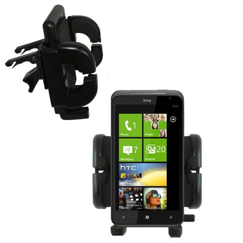 Gomadic Air Vent Clip Based Cradle Holder Car / Auto Mount suitable for the HTC Titan - Lifetime Warranty