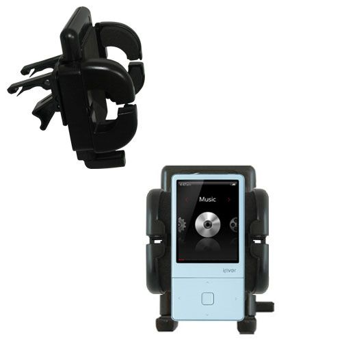 Gomadic Air Vent Clip Based Cradle Holder Car / Auto Mount suitable for the iRiver E300 - Lifetime Warranty