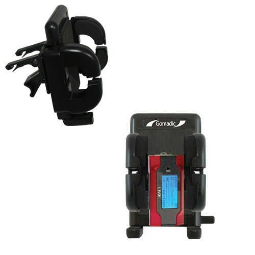 Gomadic Air Vent Clip Based Cradle Holder Car / Auto Mount suitable for the iRiver T30 - Lifetime Warranty