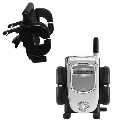 Gomadic Air Vent Clip Based Cradle Holder Car / Auto Mount suitable for the Motorola i730 - Lifetime Warranty