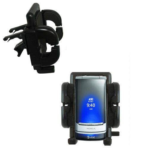 Gomadic air vent clip based cradle holder car auto mount for Nokia mural 6750