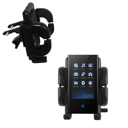 Gomadic Air Vent Clip Based Cradle Holder Car / Auto Mount suitable for the Samsung S5 - Lifetime Warranty