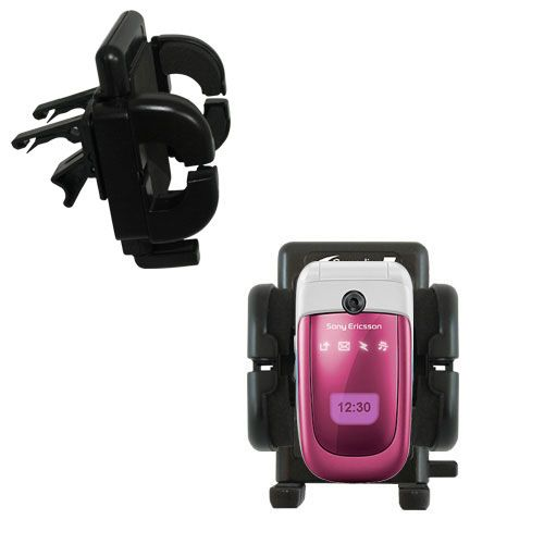 Gomadic Air Vent Clip Based Cradle Holder Car / Auto Mount suitable for the Sony Ericsson z310i - Lifetime Warranty