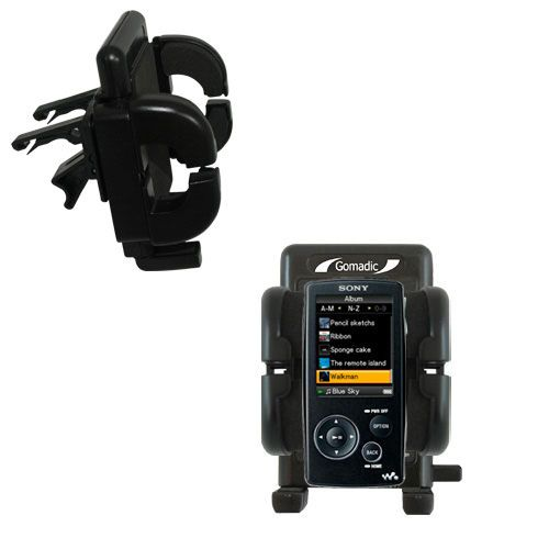 Vent Swivel Car Auto Holder Mount compatible with the Sony Walkman NWZ-A805